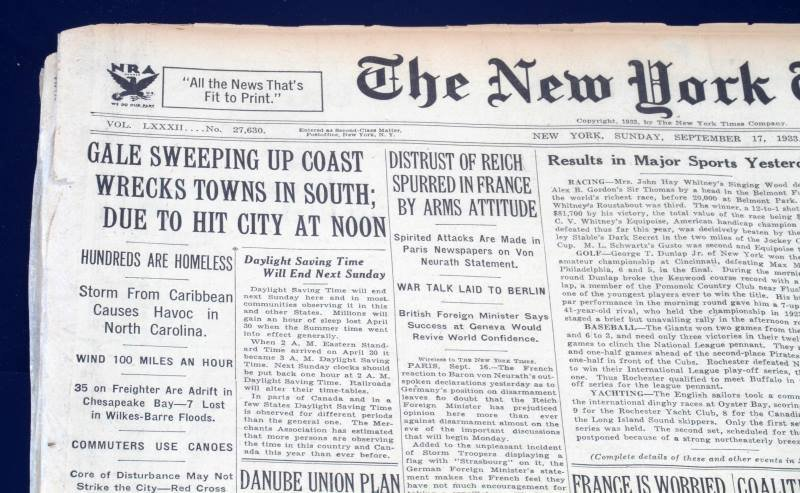 HISTORIC NEWSPAPER ARCHIVES THE NEW YORK TIMES - 2