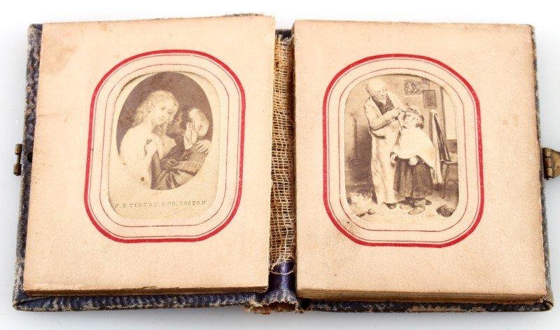 LETTIE CHRISTMAS 1863 SANTA CLAUS THE FAIRY ALBUM - 2