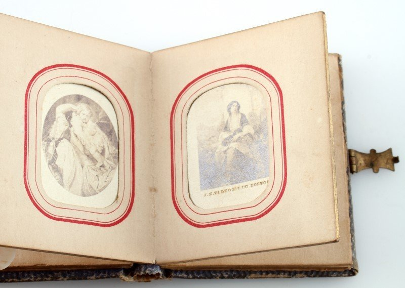 LETTIE CHRISTMAS 1863 SANTA CLAUS THE FAIRY ALBUM - 3