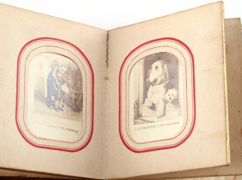LETTIE CHRISTMAS 1863 SANTA CLAUS THE FAIRY ALBUM - 4