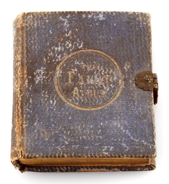 LETTIE CHRISTMAS 1863 SANTA CLAUS THE FAIRY ALBUM - 5