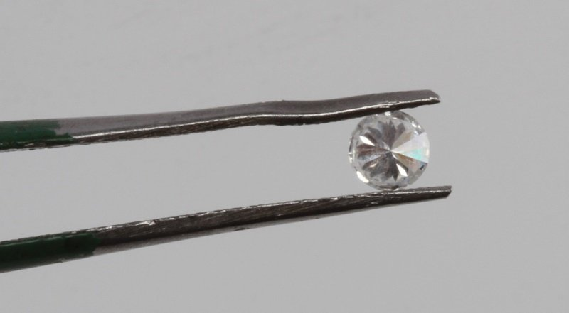 ROUND BRILLIANT CUT .18 CARAT LOOSE DIAMOND - 5