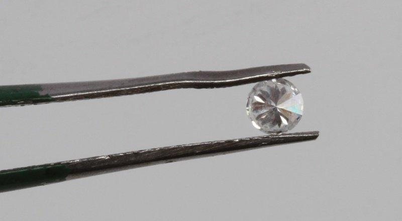 ROUND BRILLIANT CUT .18 CARAT LOOSE DIAMOND - 5