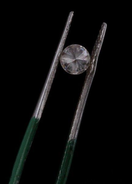ROUND BRILLIANT CUT .32 CARAT LOOSE DIAMOND - 2
