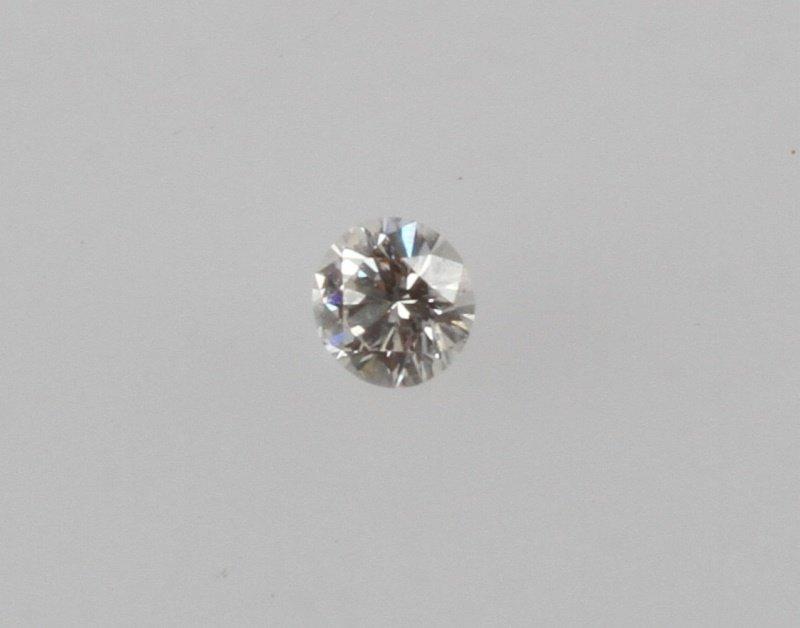 ROUND BRILLIANT CUT .32 CARAT LOOSE DIAMOND - 7
