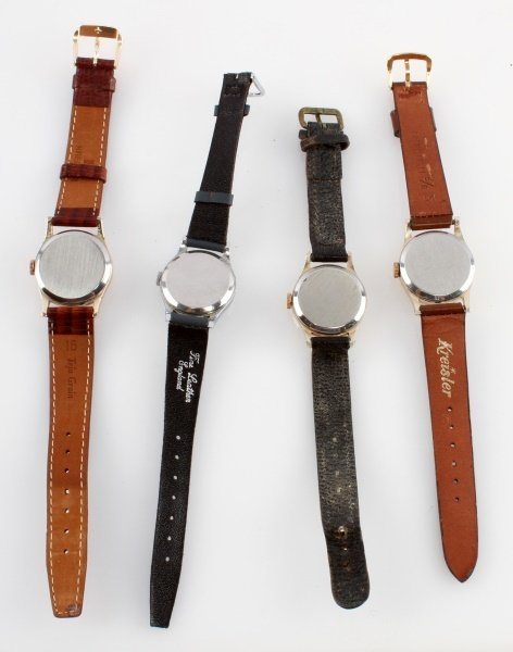 LOT OF FOUR VINTAGE SMITHS MECHANICAL WATCHES - 4