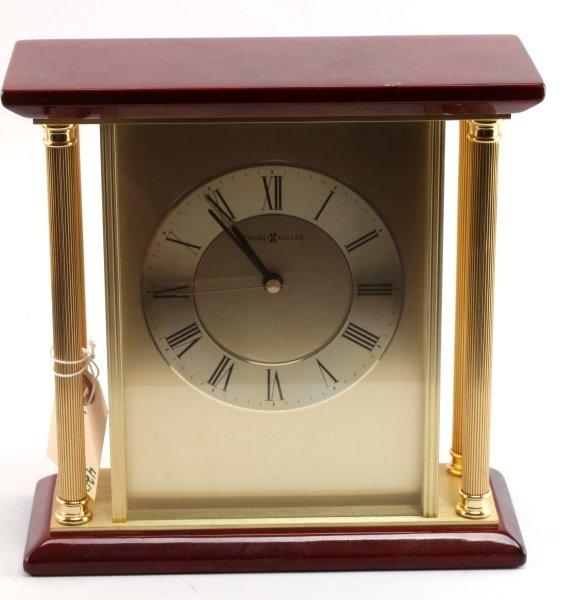 HOWARD MILLER TABLE DESK OR MANTAL CLOCK