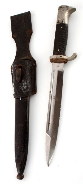 WWII THIRD REICH GERMAN SHORT K98 DRESS BAYONET - 3