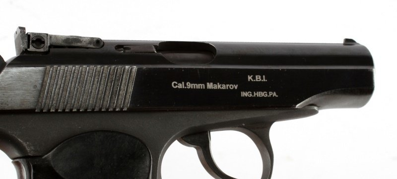 RUSSIAN MAKAROV 9MM SEMI AUTOMATIC PISTOL - 3