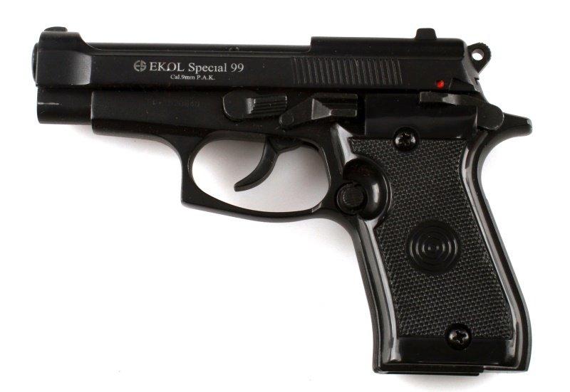 EKOL SPECIAL 99 DUMMY PROP TRAINING GUN 9MM TURKEY - 2