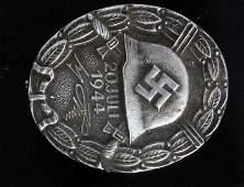 WWII GERMAN THIRD REICH 20 JULY SILVER WOUND BADGE