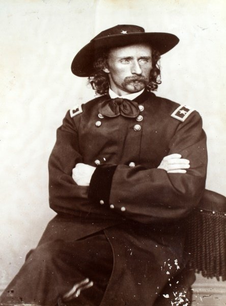 ANTIQUE PHOTOGRAPH GENERAL GEORGE CUSTER - 2