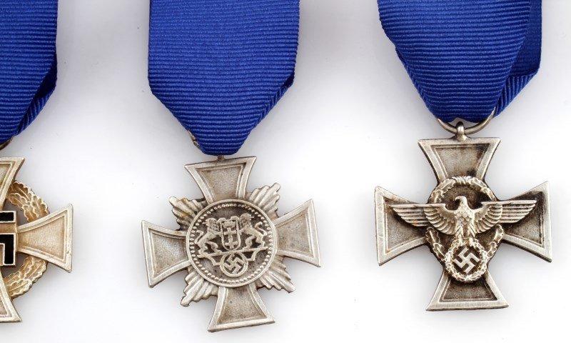 4 GERMAN WWII THIRD REICH CROSSES - 3