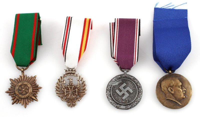 GERMAN WWII THIRD REICH MEDALS
