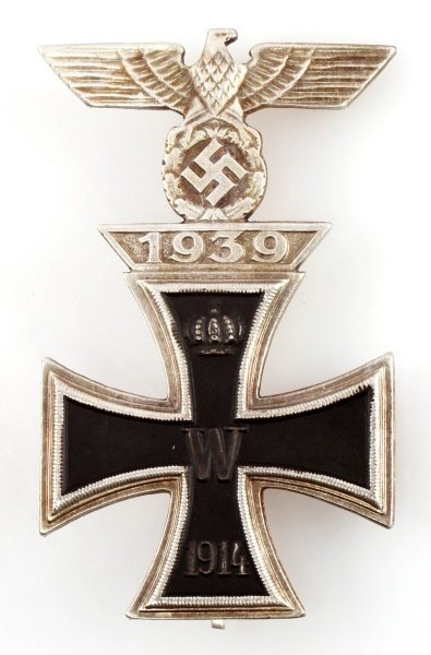 GERMAN WWII IRON CROSS 1ST CLASS WITH CLASP