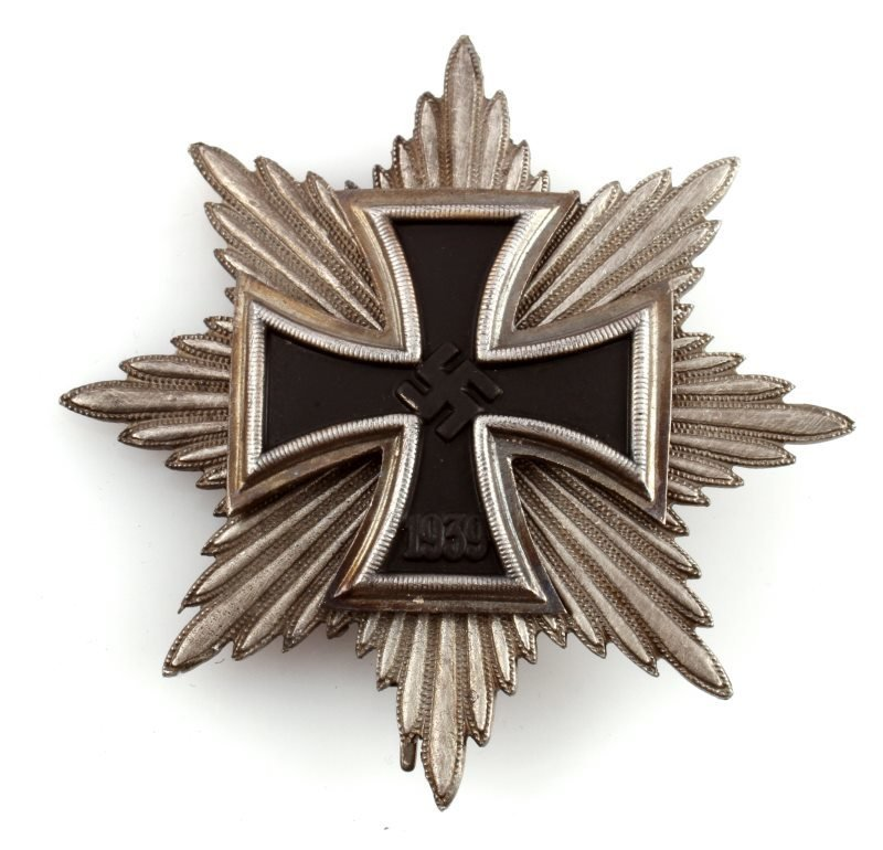 GERMAN GRAND CROSS BREAST STAR OF WWII IRON CROSS