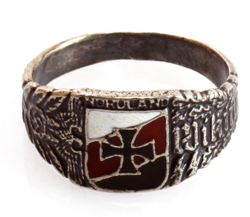 GERMAN WWII WAFFEN SS DIVISION VIKING RING