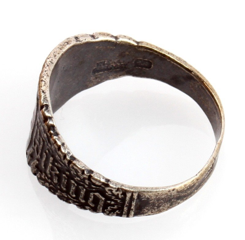 GERMAN WWII WAFFEN SS DIVISION VIKING RING - 2