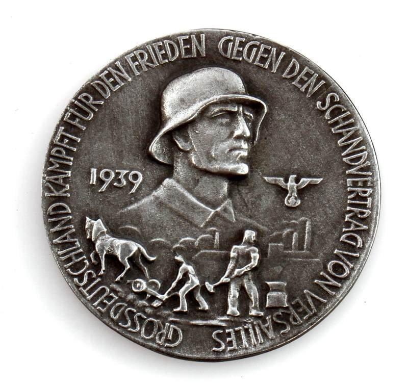 1930'S GERMAN HOLOCAUST ANTI-SEMITIC COIN