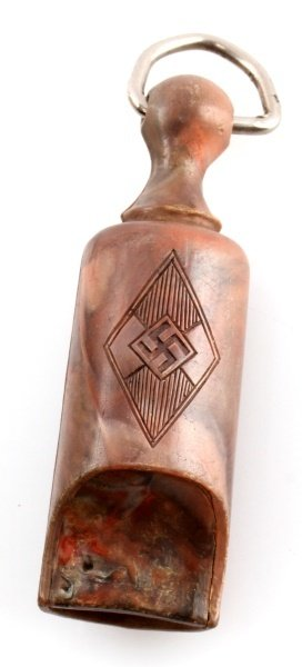 GERMAN WWII THIRD REICH HITLERJUGEND WHISTLE - 2