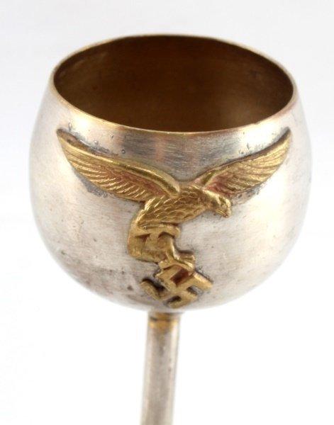 GERMAN WWII LUFTWAFFE SCHNAPPS CUP - 2