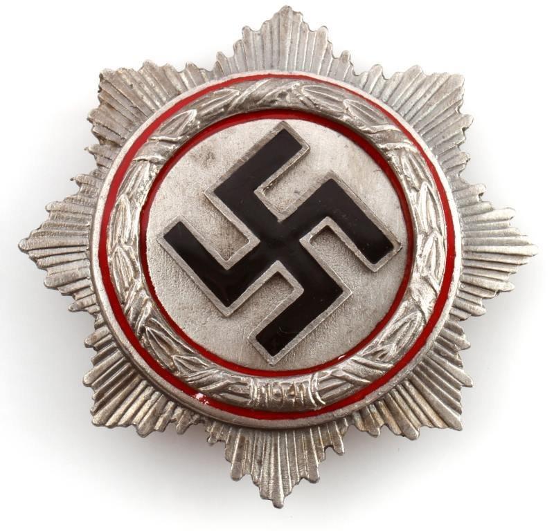 WWII THIRD REICH GERMAN CROSS SILVER