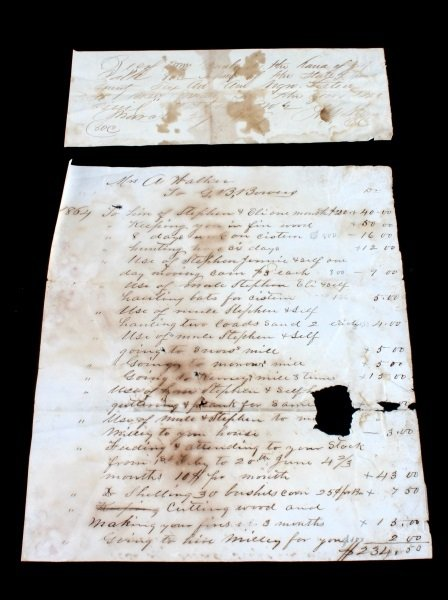 2 SLAVE DOCUMENTS TRANSFER AND HIRE BILL