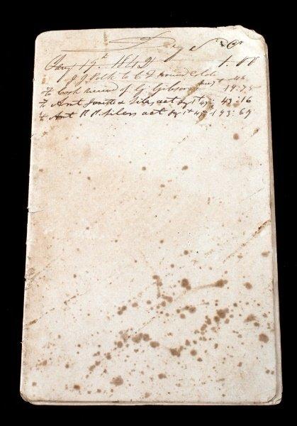 1840S SLAVE TRANSFER DOCUMENT W/ PRICES & NAMES