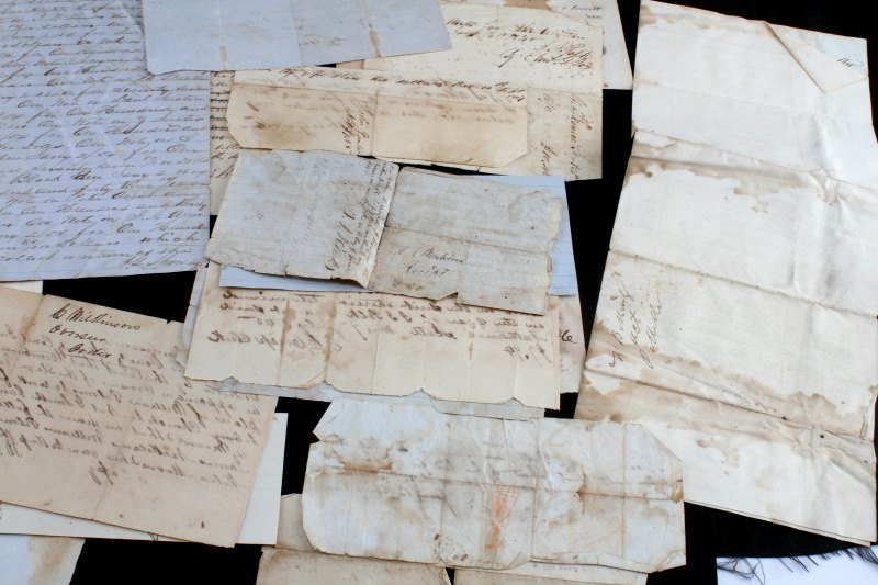 OVER 45 TENNESSEE 1820 TO 1865 DOCUMENTS & NOTES - 5