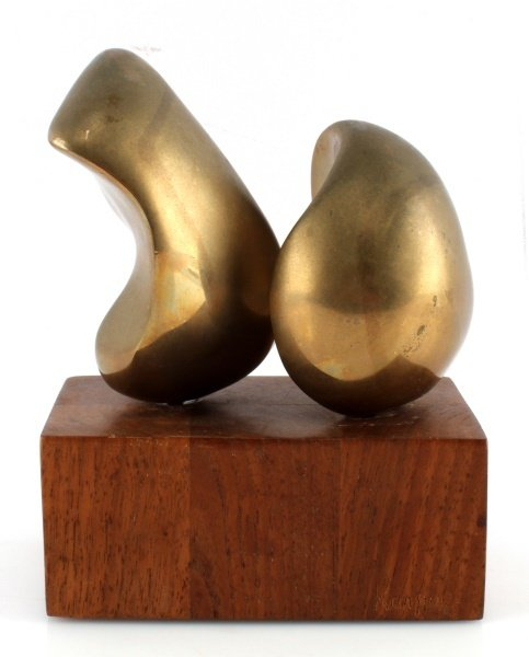 ELI KARPEL (AMERICAN, 1916-1988) UNTITLED BRONZE