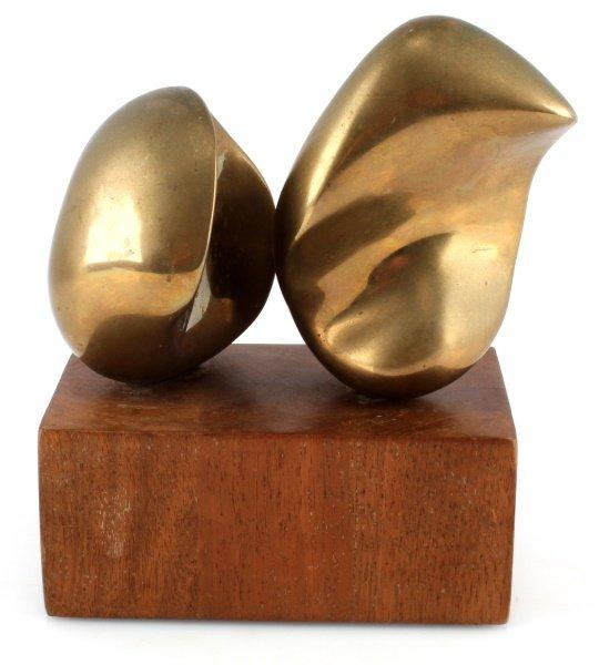 ELI KARPEL (AMERICAN, 1916-1988) UNTITLED BRONZE - 3