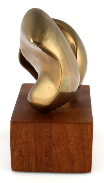 ELI KARPEL (AMERICAN, 1916-1988) UNTITLED BRONZE - 4