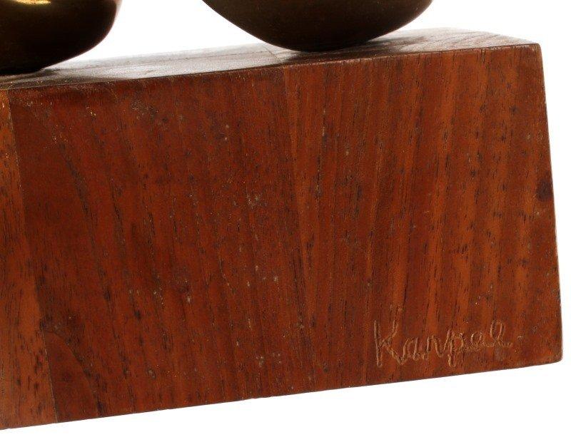 ELI KARPEL (AMERICAN, 1916-1988) UNTITLED BRONZE - 5