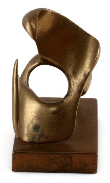 ELI KARPEL (AMERICAN, 1916-1988) BRASS SCULPTURE - 5