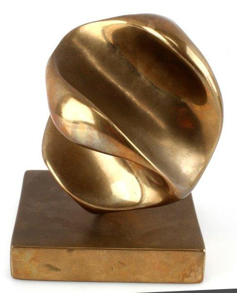 ELI KARPEL (AMERICAN, 1916-1998)  ABSTRACT BRONZE - 3