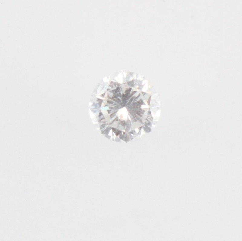 ROUND BRILLIANT CUT .66 CARAT LOOSE DIAMOND