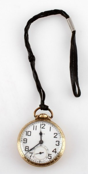 ELGIN GRADE 572 19J 6 POS POCKET WATCH