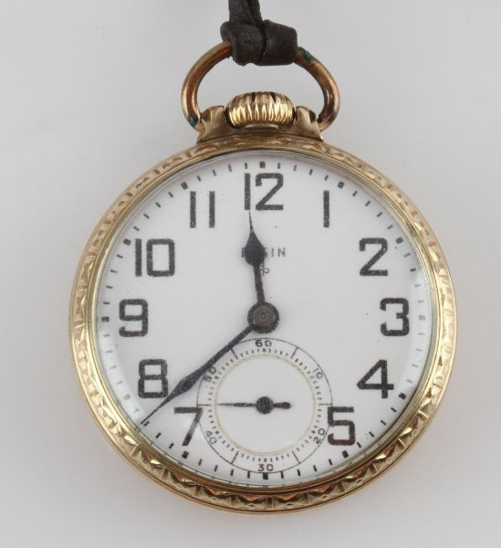ELGIN GRADE 572 19J 6 POS POCKET WATCH - 2