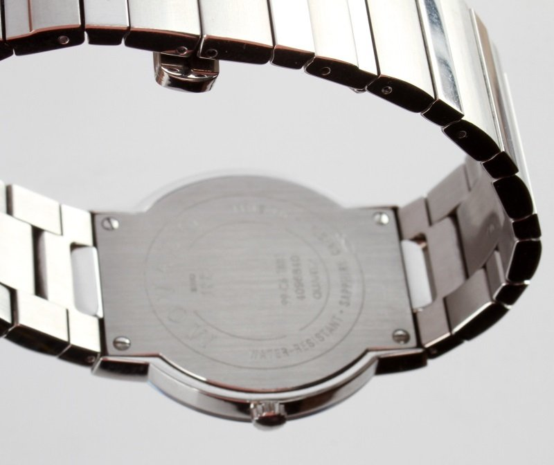 MOVADO STELO MUSEUM STAINLESS/SAPPHIRE GLASS WATCH - 4