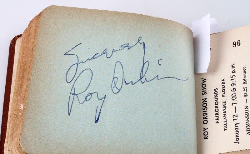 FLORIDA BOY'S AUTOGRAPH BOOK 1960'S ELVIS LBJ - 6