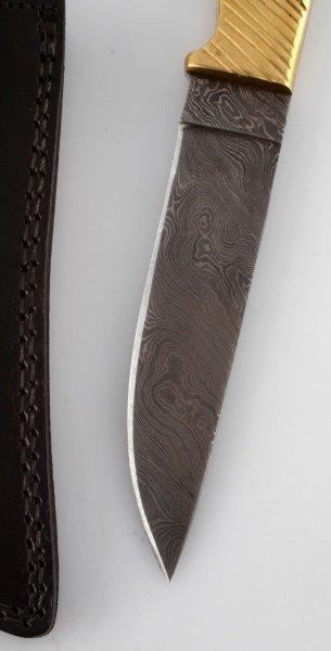 DNZ TRADING CO. CUSTOM DAMASCUS STEEL KNIFE - 2