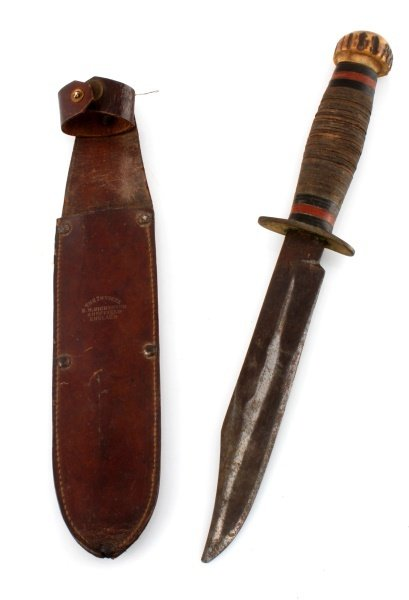 WWII ENGLAND E M DICKINSON INVICTA FIGHTING KNIFE