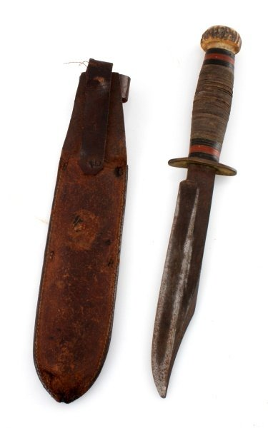 WWII ENGLAND E M DICKINSON INVICTA FIGHTING KNIFE - 6