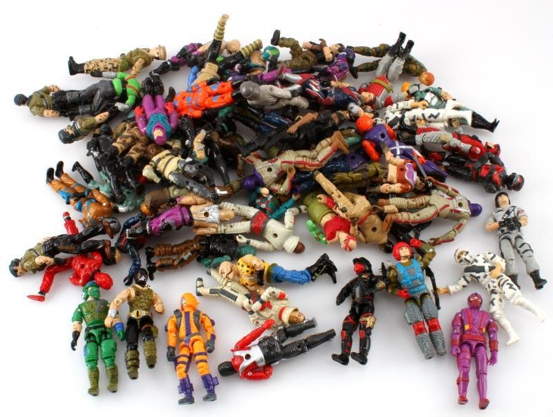 ORIGINAL 1980S G I JOE ACTION FIGURES &ACCESSORIES