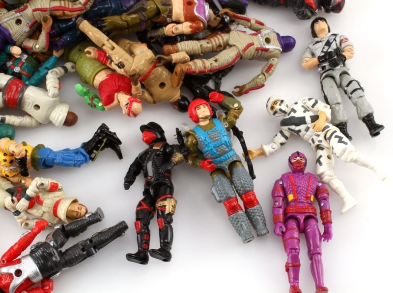 ORIGINAL 1980S G I JOE ACTION FIGURES &ACCESSORIES - 2