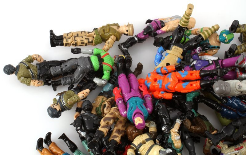 ORIGINAL 1980S G I JOE ACTION FIGURES &ACCESSORIES - 3