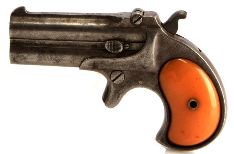 REMINGTON MODEL 95 TYPE III DOUBLE DERRINGER .41RF - 2