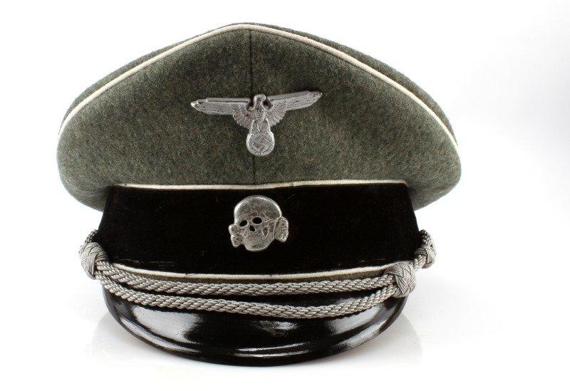 WWII THRID REICH GERMAN WAFFEN SS VISOR