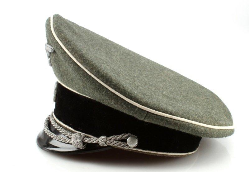 WWII THRID REICH GERMAN WAFFEN SS VISOR - 3