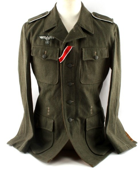 WWII GERMAN 3RD REICH REPRODUCTION ARMY TUNIC